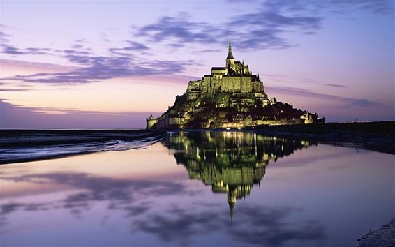 Обои Замок во Франции