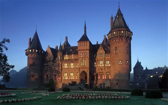 Wallpaper Castle in Netherlands
