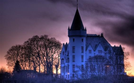 Fond d'écran Château en Norvège