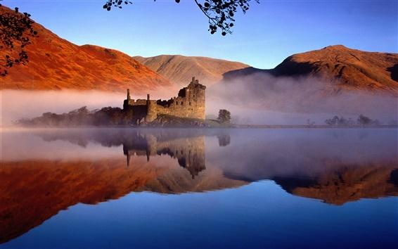 Wallpaper Castle in Scotland