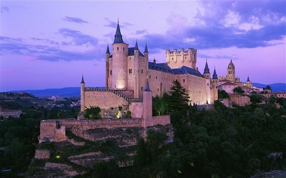 Papéis de Parede Castelo na Espanha