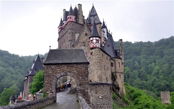 Обои Замки в Германии, Эльц