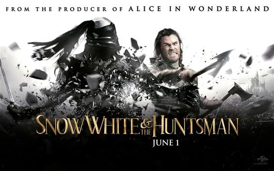 Fondos de pantalla Chris Hemsworth en Blanca Nieves y El Cazador