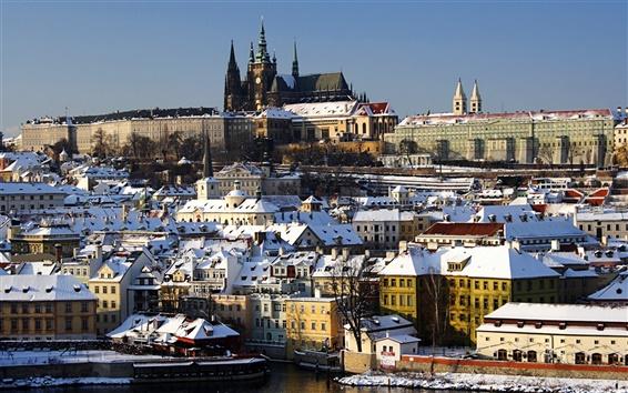 Fond d'écran tchèque d'hiver