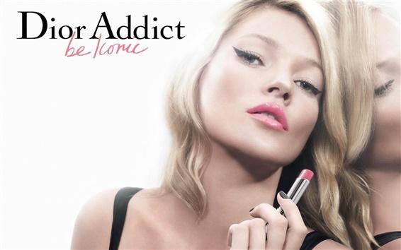 Papéis de Parede Anúncios Dior Addict