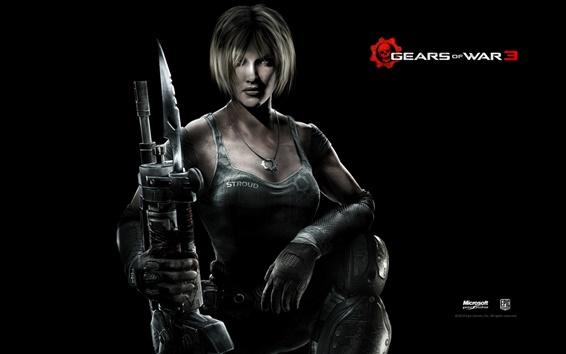 Wallpaper Gears of War 3 PC game wide