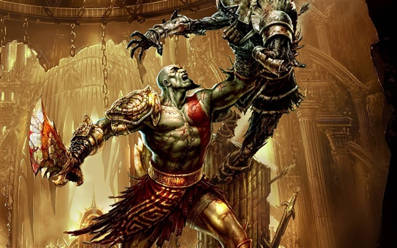 Fondos de pantalla God of War 3 HD