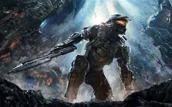 Wallpaper Halo 4