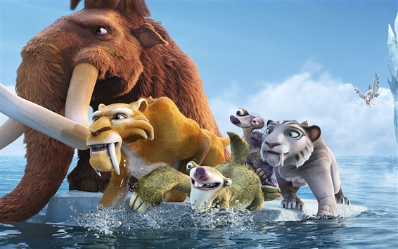Wallpaper Ice Age: Continental Drift HD