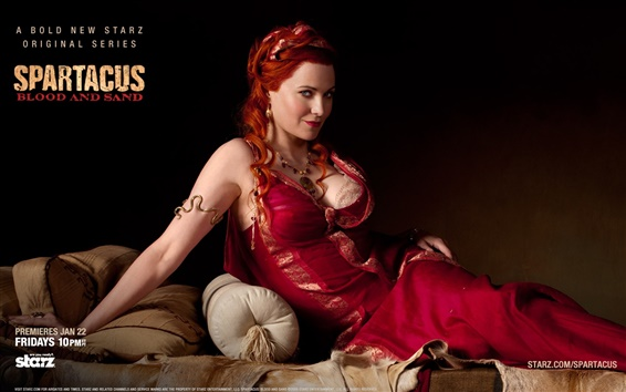 Wallpaper Lucy Lawless in Spartacus: Blood and Sand
