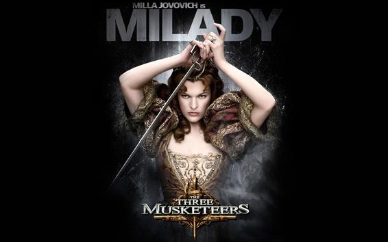 Papéis de Parede Milla Jovovich em Os Três Mosqueteiros