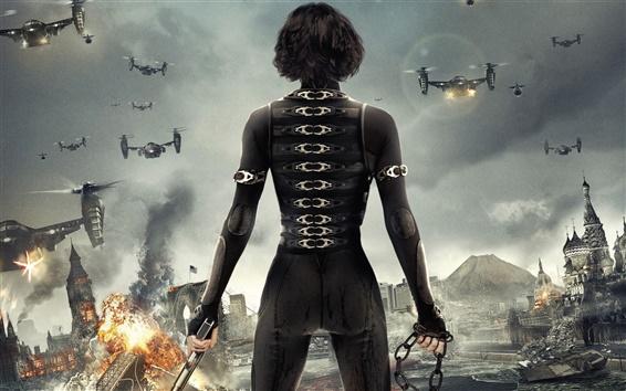 Wallpaper Resident Evil: Retribution wide