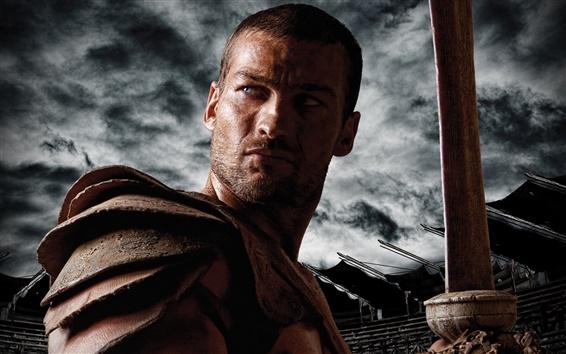 Обои Спартак: Кровь и песок широком