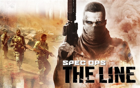 Wallpaper Spec Ops: The Line