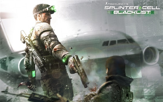 Wallpaper Splinter Cell: Blacklist