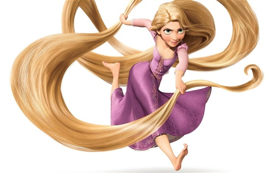 Wallpaper Tangled wide