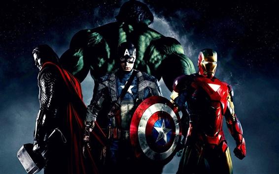 Wallpaper The Avengers 2012 movie