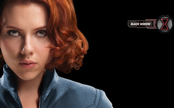 Wallpaper The Avengers, Scarlett Johansson: black widow