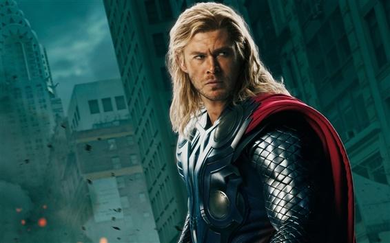 Wallpaper The Avengers, Thor