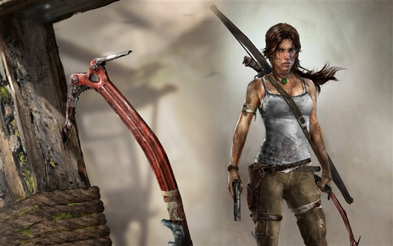 Wallpaper Tomb Raider 2012 HD