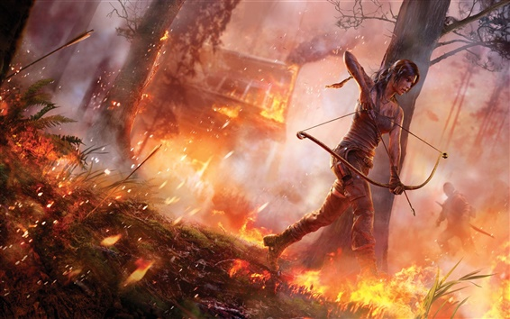 Wallpaper Tomb Raider 2012