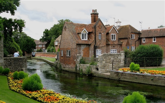 Fond d'écran Royaume-Uni, Canterbury