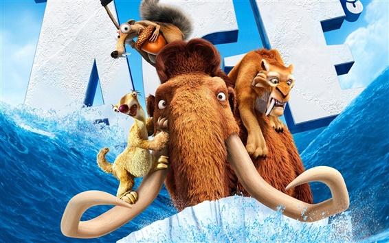 Fondos de pantalla 2012 La era de hielo 4 películas