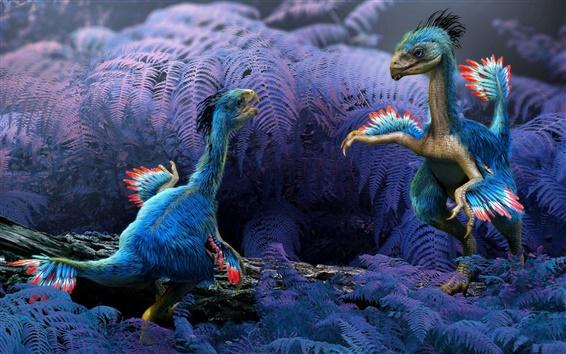 Wallpaper Ancient animals, dinosaurs