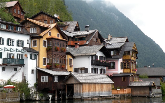 Wallpaper Austria Hallstatt