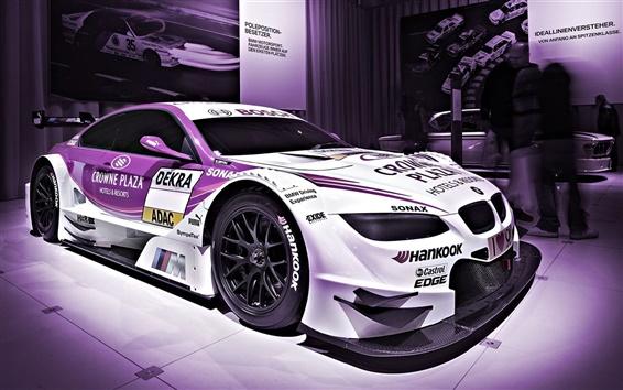 Fond d'écran BMW M3 de course