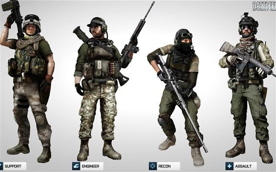 Wallpaper Battlefield 3 Multiplayer game