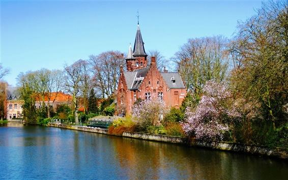 Papéis de Parede Brugge Bélgica