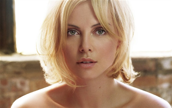 배경 화면 Charlize Theron 04
