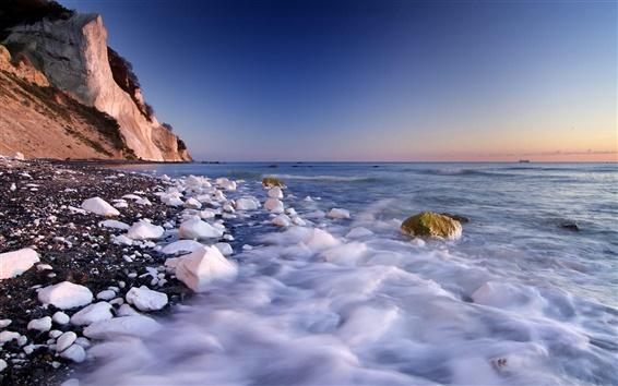 Обои Прибрежные камень
