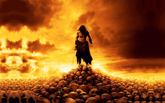 Wallpaper Conan the Barbarian 2011