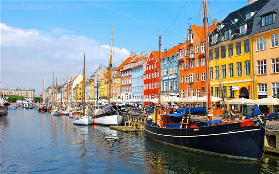 Wallpaper Denmark City