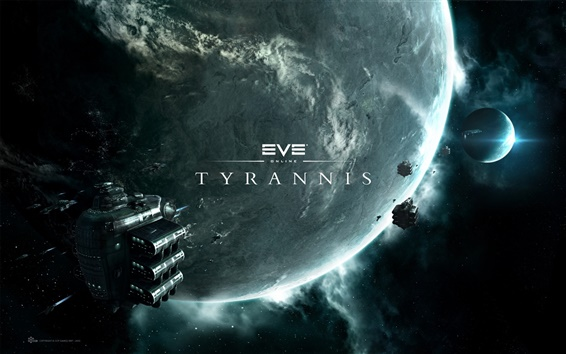 Wallpaper Eve Online: Tyrannis HD