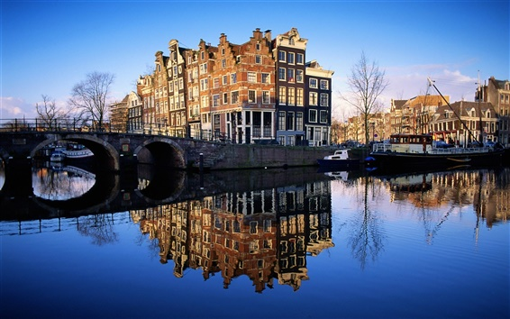 Wallpaper Famous buildings Netherlands