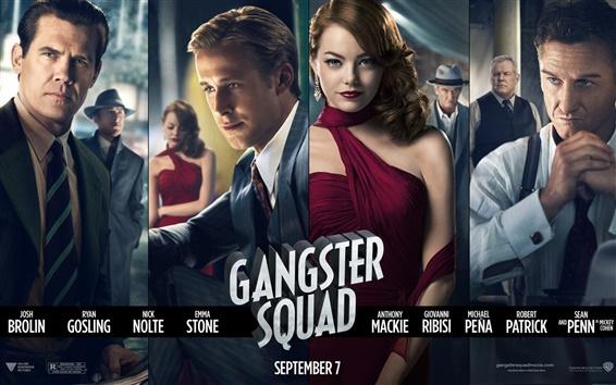 Wallpaper Gangster Squad