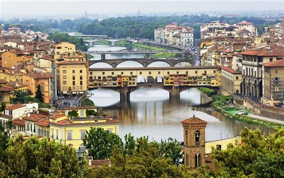 Wallpaper Italy's beautiful urban landscape