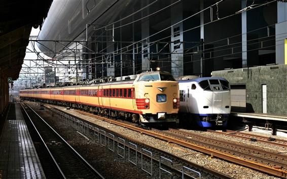 Wallpaper Japanese train