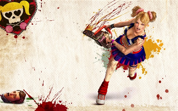 Lollipop Chainsaw HD Papéis de Parede Preview