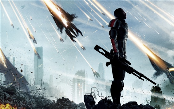 Wallpaper Mass Effect 3 game 2012