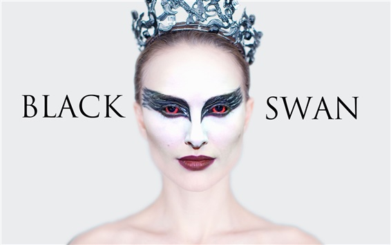 Wallpaper Natalie Portman in Black Swan