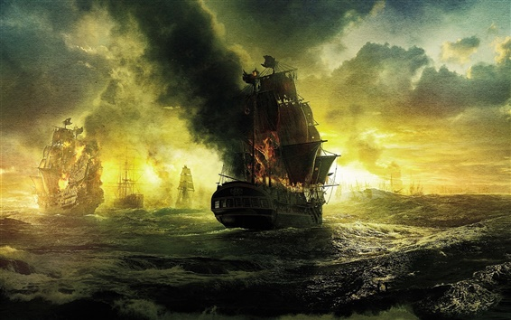 Wallpaper Pirates of the Caribbean movie