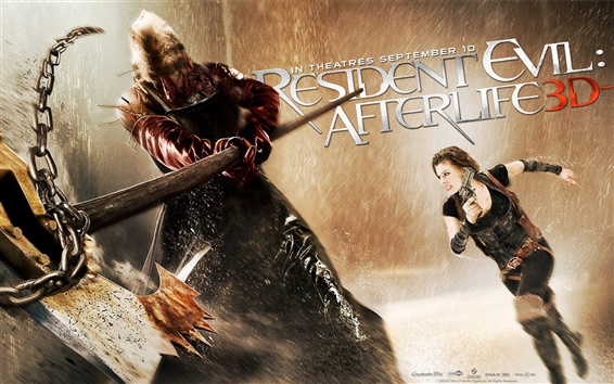 Wallpaper Resident Evil 4: Afterlife 2010
