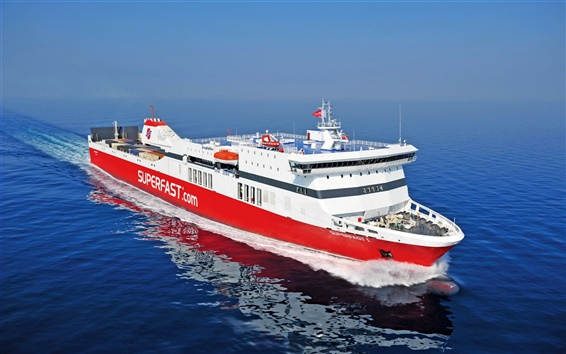 Wallpaper Superfast Ferries