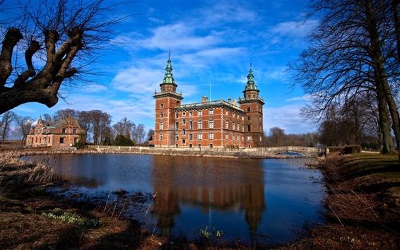 Wallpaper Sweden castle photography
