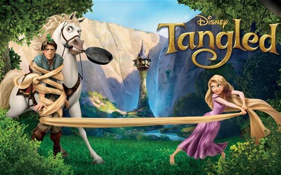 Fondos de pantalla Tangled HD