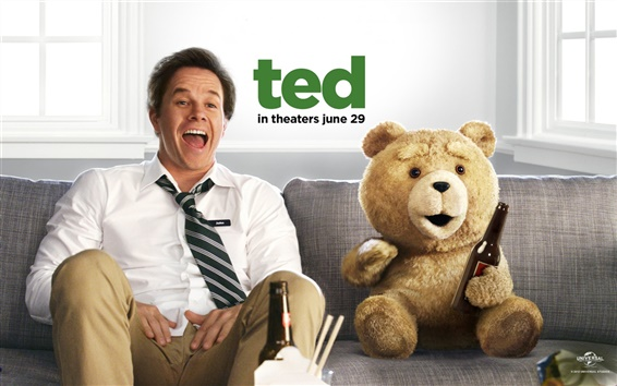 Wallpaper Ted 2012 movie